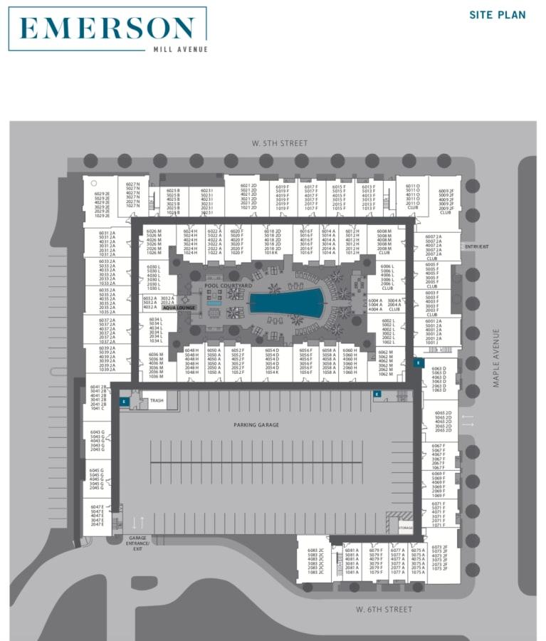Emerson Mill Avenue site plan