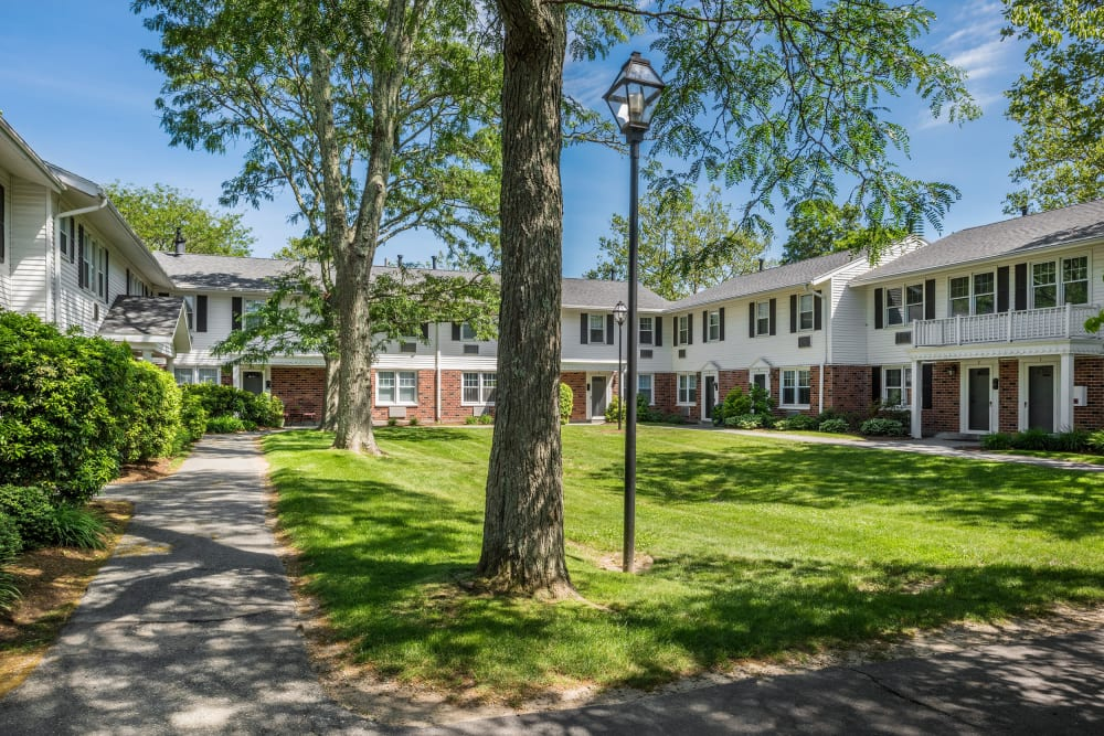 Apartments at President Village in Fall River, Massachusetts