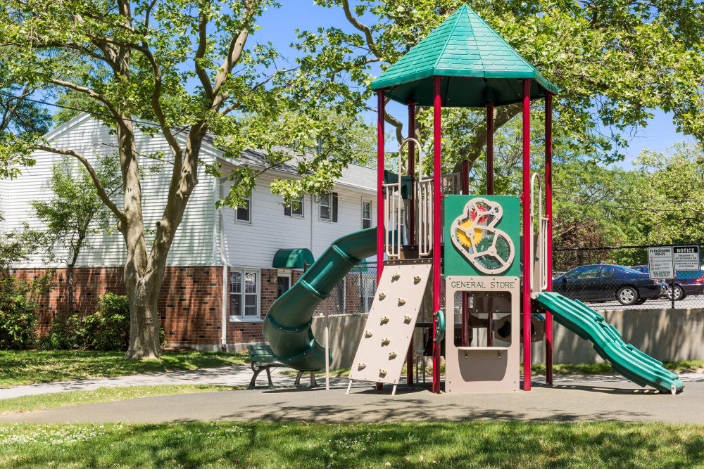 Playground at President Village in Fall River, Massachusetts