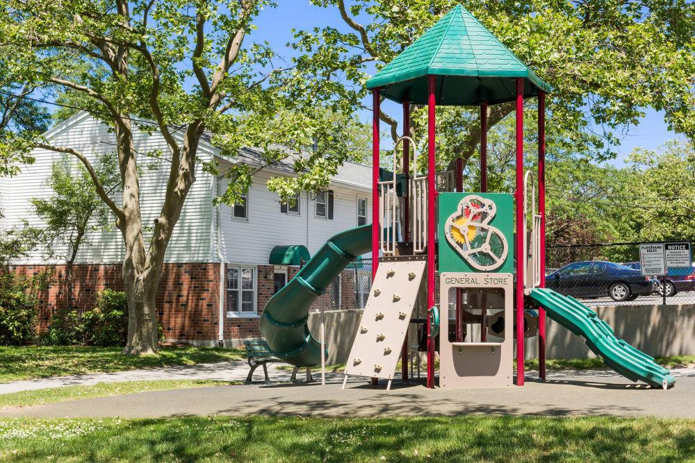Playground at President Village in Fall River, Massachusetts