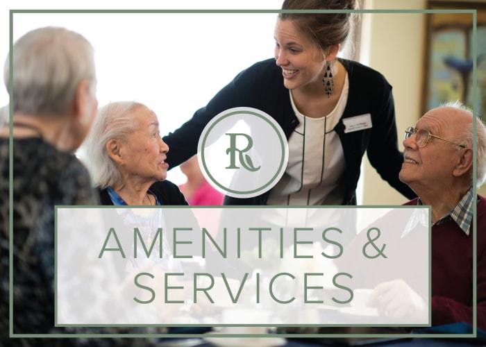 Services and Amenities at Regency Park Astoria in Pasadena, California