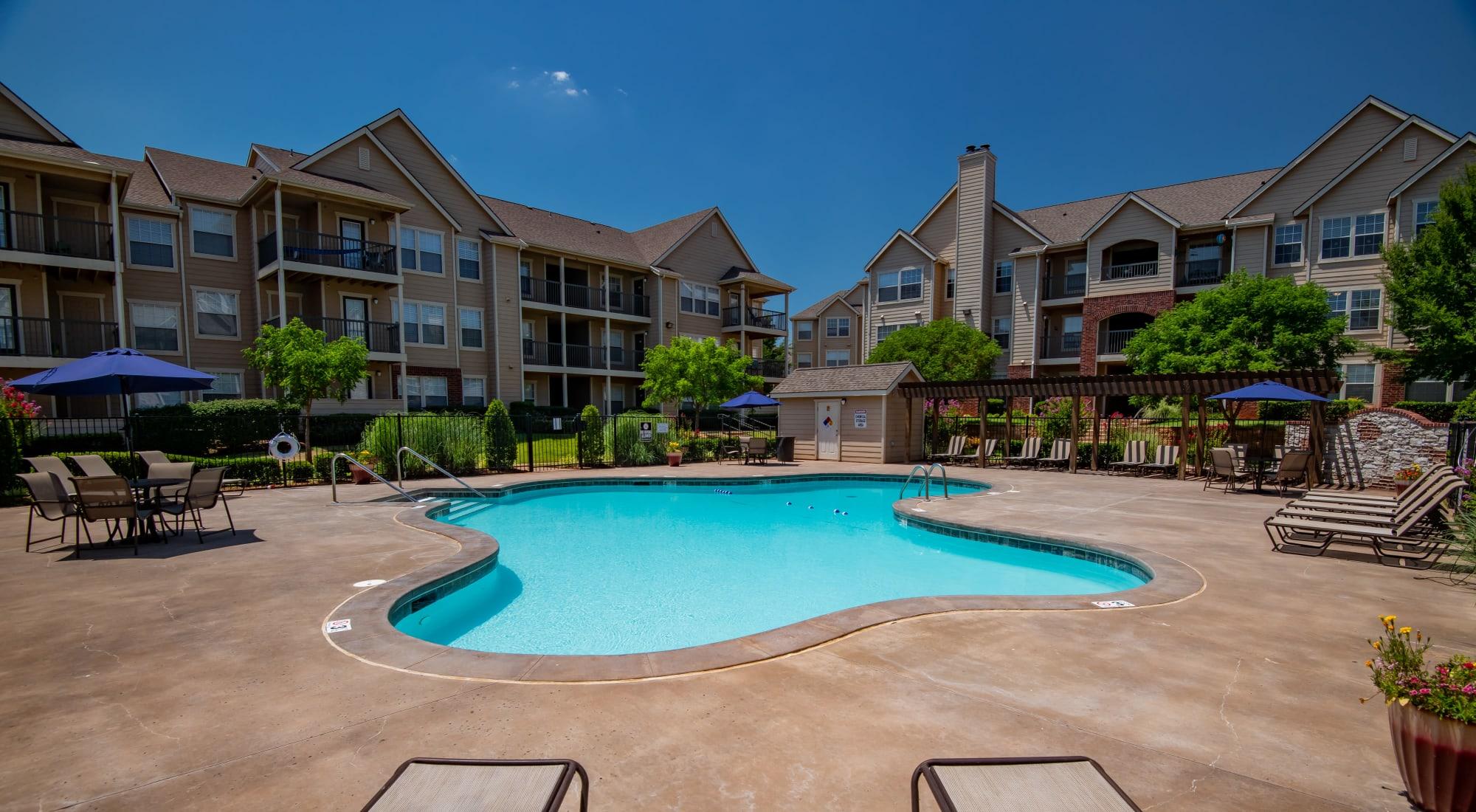Fountain Lake in Edmond, Oklahoma