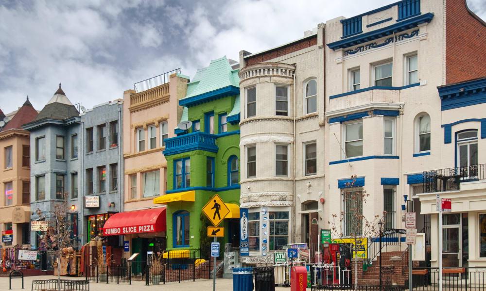 Neighborhood near 1330 7th Street in Washington, District of Columbia