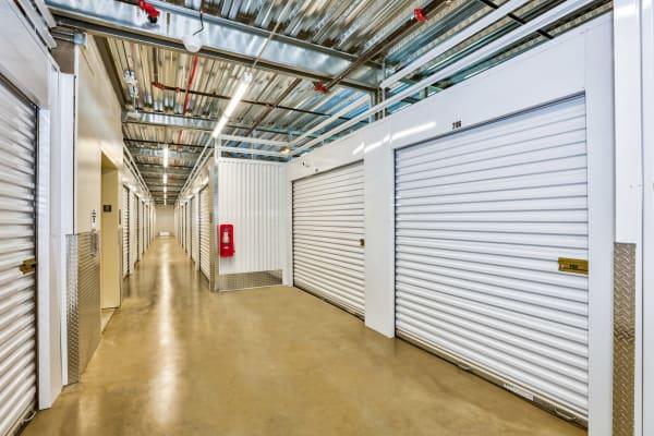 Indoor storage at StorQuest Self Storage in Denver, Colorado