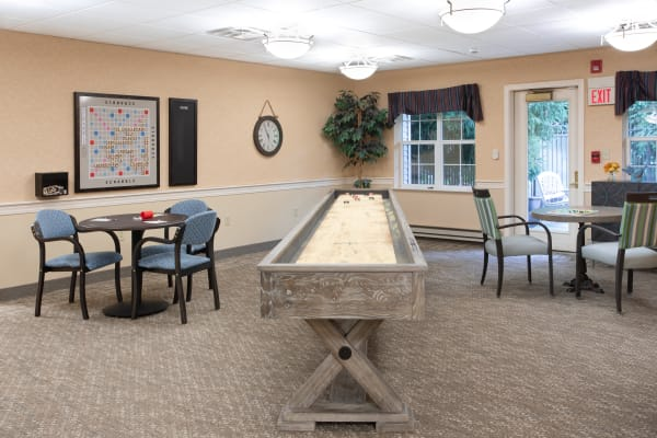 Community clubhouse at Governor's Village in Mayfield Village, Ohio