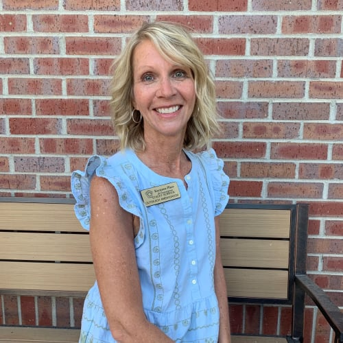 Stacey Bowden, Outreach Ambassador at Keystone Place at Forevergreen in North Liberty, Iowa