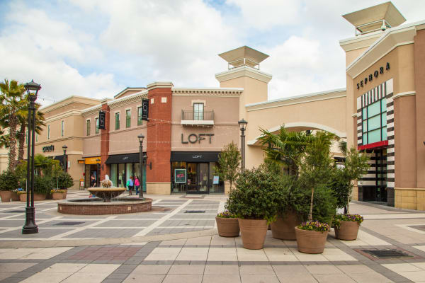 Outlet mall near The High Grove in Baton Rouge, Louisiana