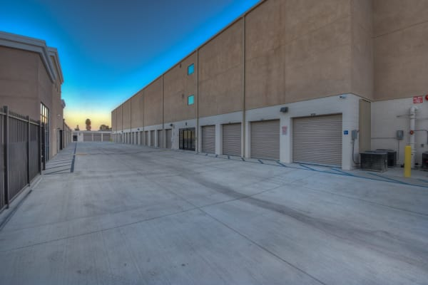 Self storage units for rent at My Self Storage Space in Fullerton, California
