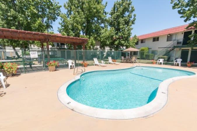 Swimming pool at Buchanan Gardens in Antioch, California