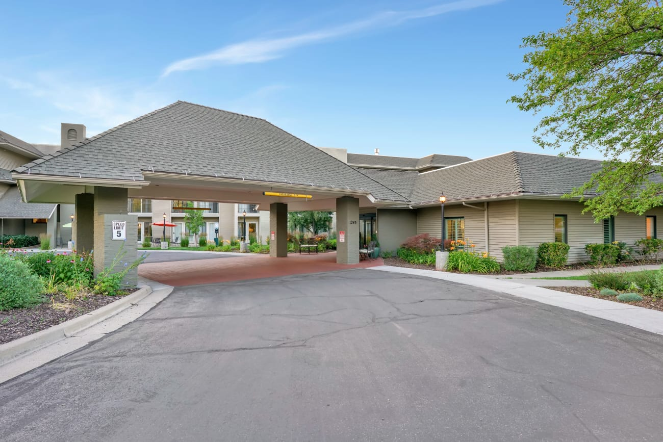 Front entrance at Cottonwood Creek in Salt Lake City, Utah