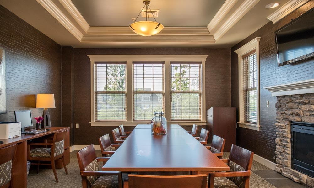 Our apartments in Watertown, New York showcase a luxury dining room