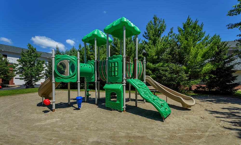 Beautiful playground at Christopher Wren Apartments in Wexford, PA