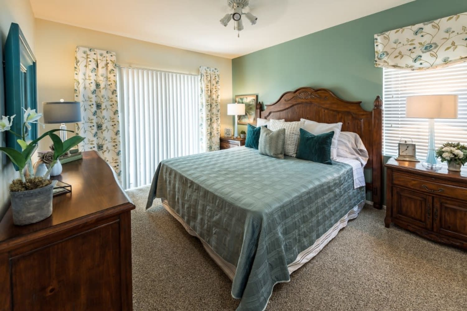 Bedroom at The Village on 5th in Rancho Cucamonga, California