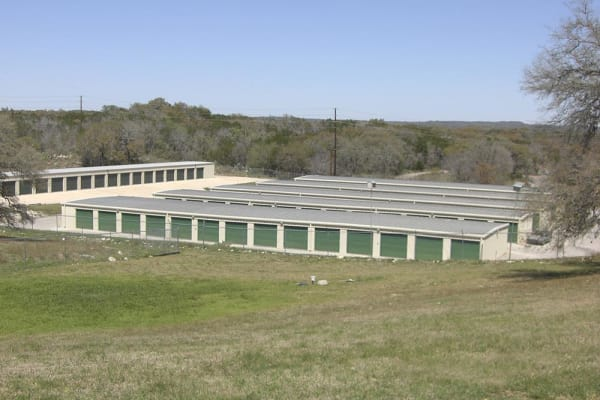 External view at Ranch Road Self Storage in San Marcos, Texas