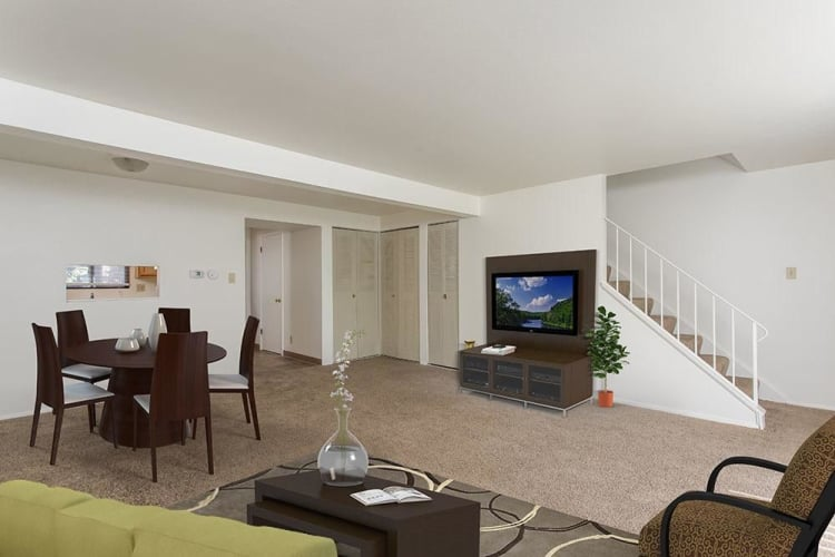 Apartment home interior at High Acres Apartments and Townhomes in Syracuse, NY