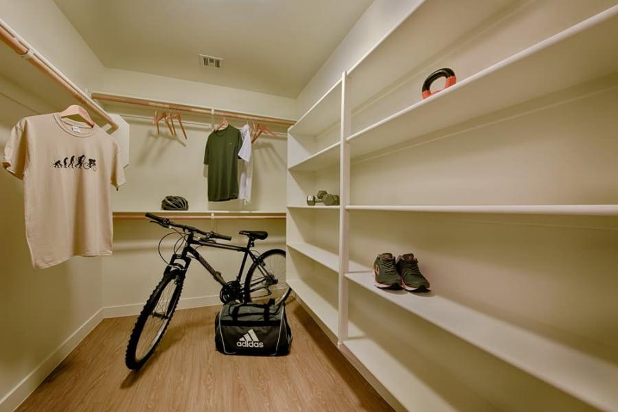 Indoor storage at The TOMSCOT in Scottsdale, Arizona