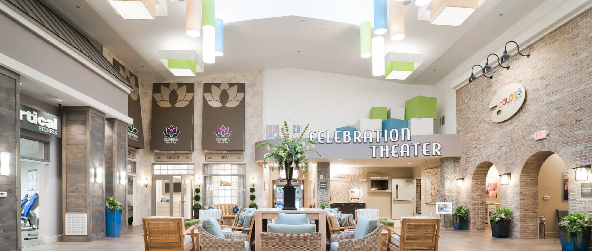 Lifestyle Options at Celebration Village in Acworth, Georgia