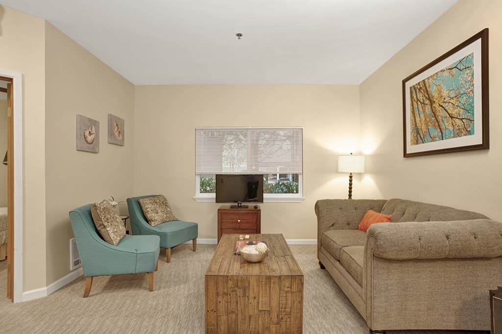 View the spacious floor plans that the senior living in Mercer Island is offering