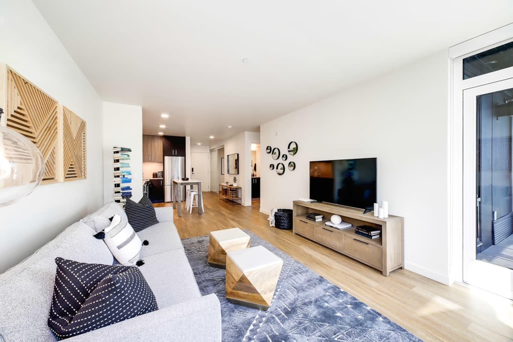 Living Room at Blackbird in Redmond, Washington