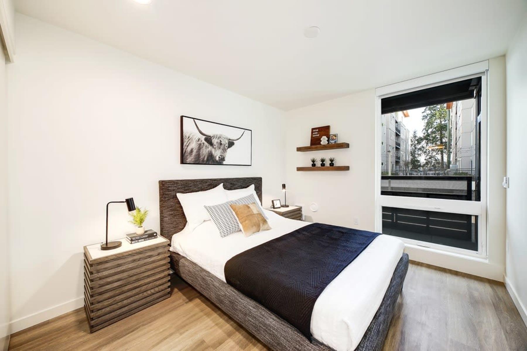 Bedroom at Blackbird in Redmond, Washington