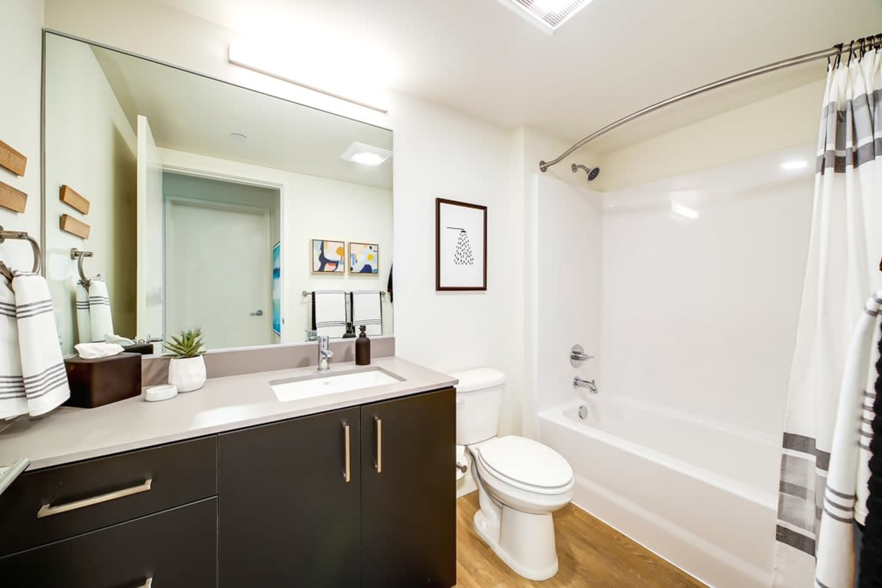 Bathroom at Blackbird in Redmond, Washington