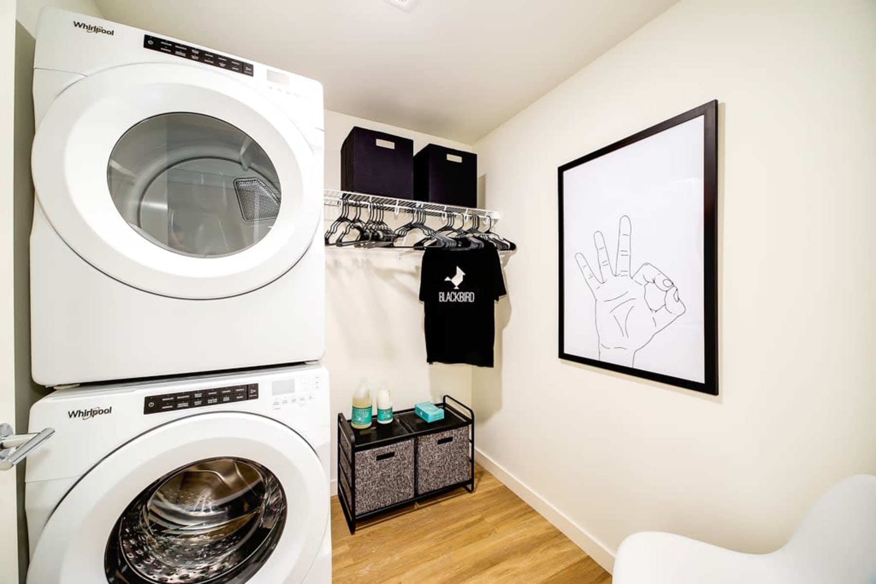 Washer and Dryer at Apartments in Redmond, Washington