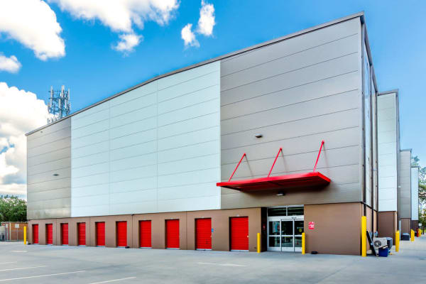 Indoor storage at StorQuest Self Storage in Gainesville, Florida