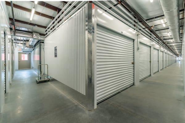 Indoor storage units at StorQuest Express - Self Service Storage in Palm Coast, Florida
