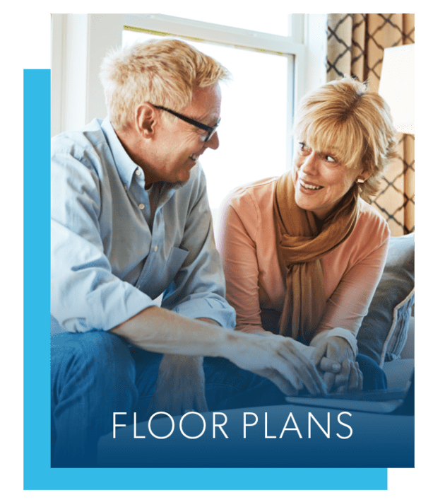 Floor plans at Lakewood Hills Apartments & Townhomes