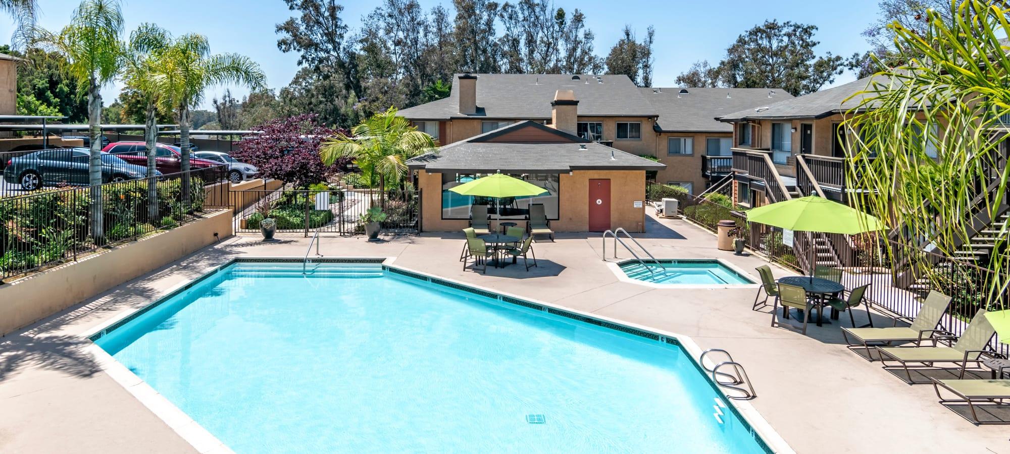 Lemon Grove, California apartments at Hillside Terrace Apartments