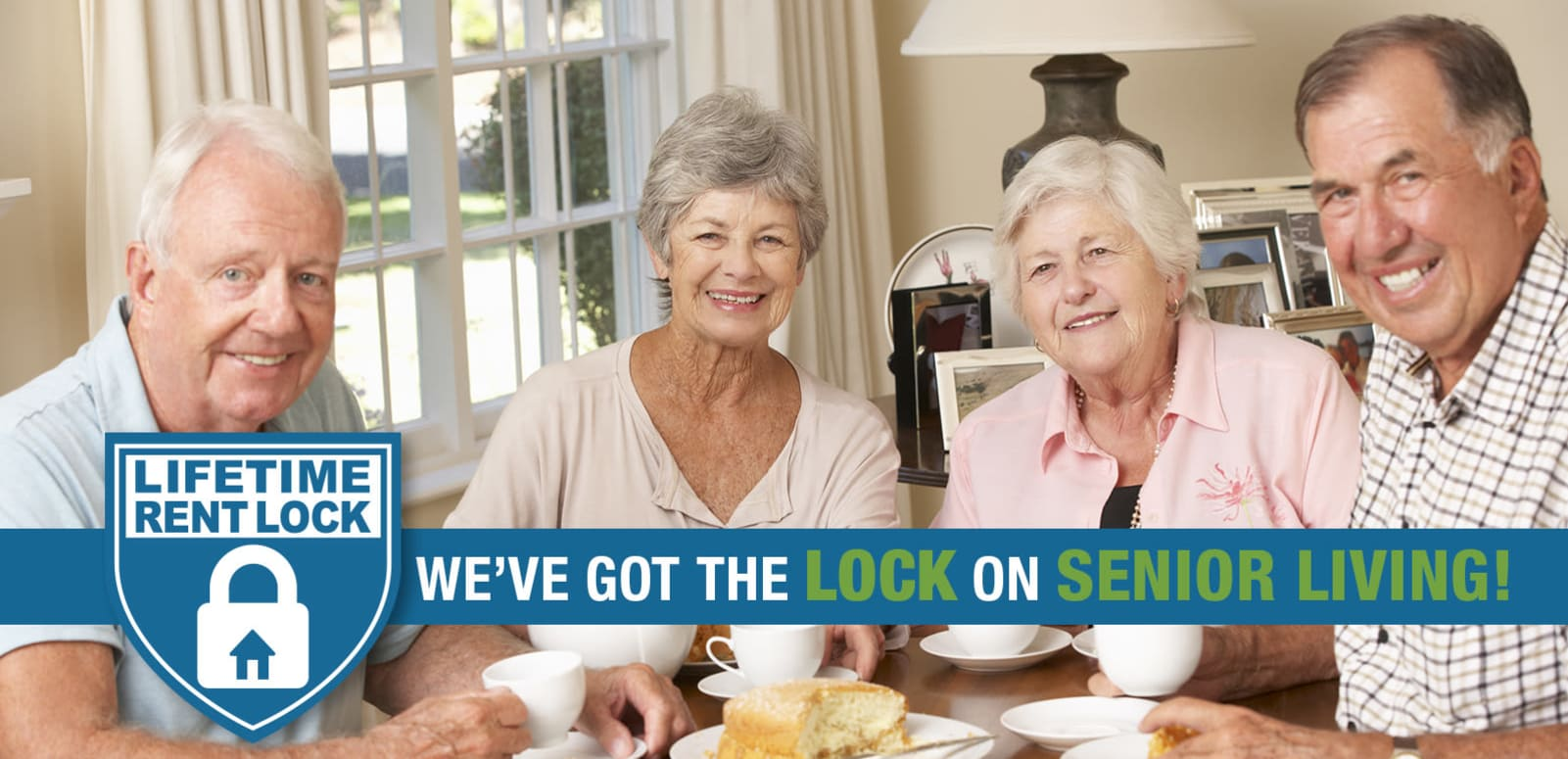 Senior living options at the senior living community in Slidell