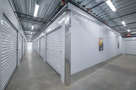 Interior of climate-controlled unit at StorQuest Self Storage in Tigard, OR