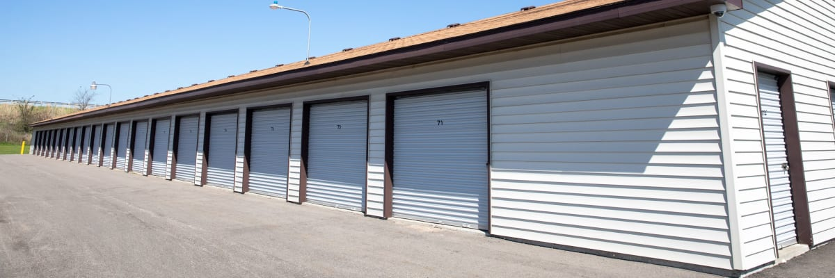 Unit sizes and prices at KO Storage of Portage - North in Portage, Wisconsin