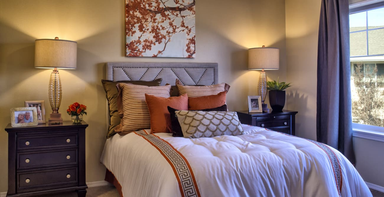 The Commons at Union Ranch offers a bedroom in Manteca, California