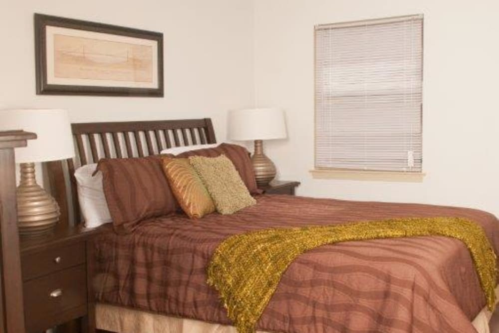 Bedroom at Lynn York Apartments in Irvington, New Jersey