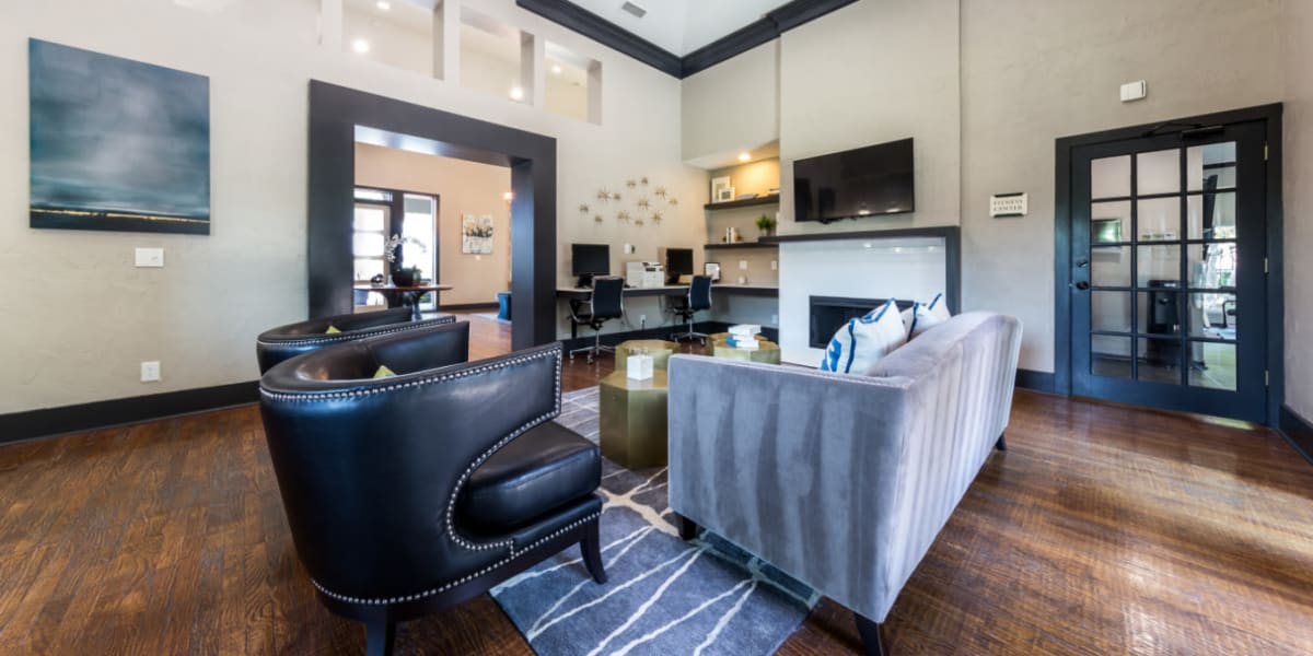 Clubroom at Marquis at Legacy in Plano, Texas
