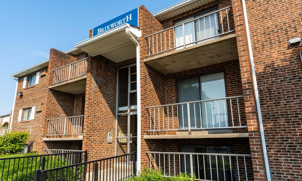 Apartment homes at Brixworth Apartments in Cincinnati, Ohio