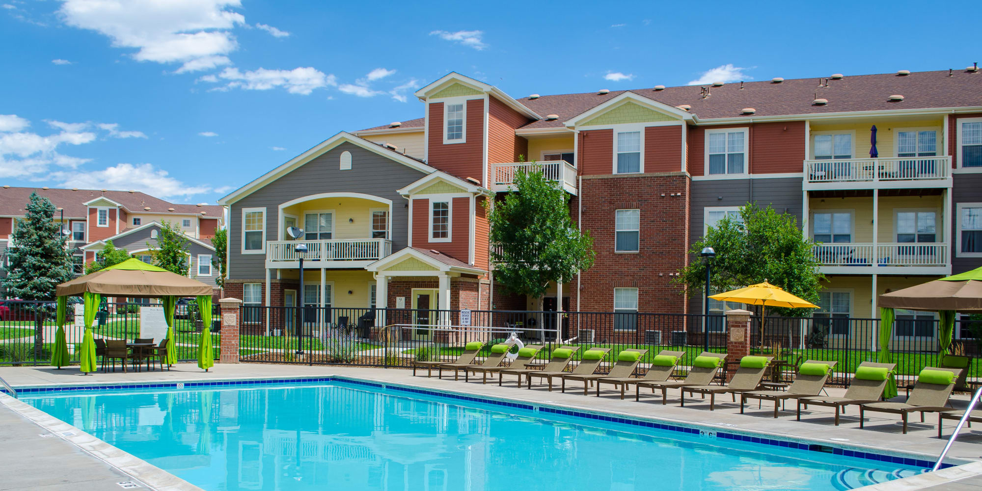 Apartments at Bear Valley Park in Denver, Colorado