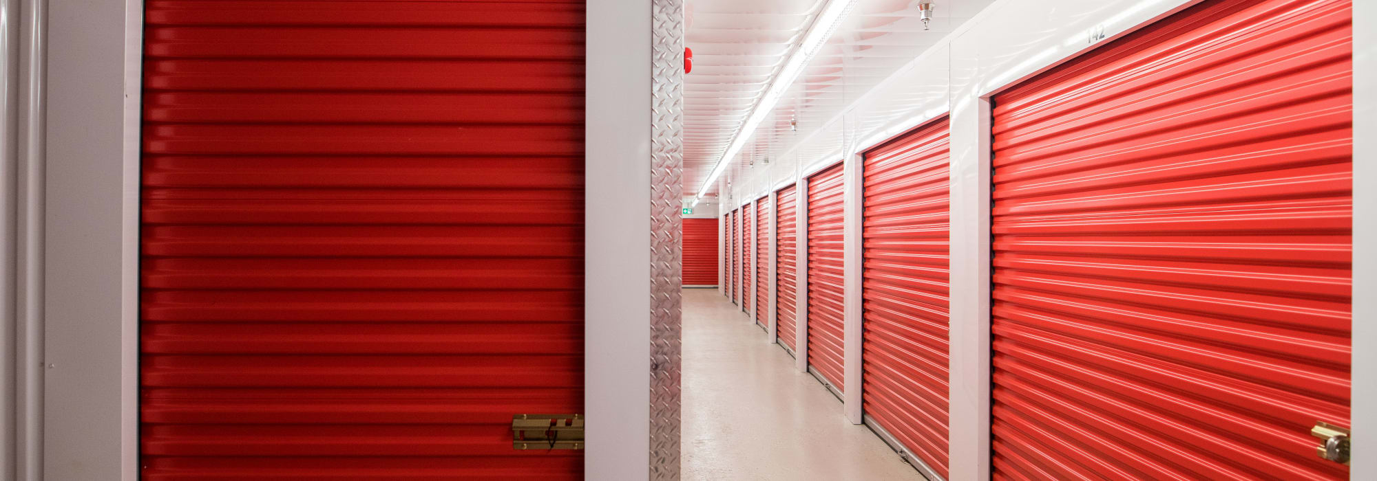 Storage units at Apple Self Storage - Saint John North in Saint John, New Brunswick