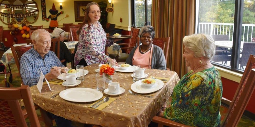 Food and ingredients from Martin Brothers, the food supplier for Willow Creek Senior Living in Elizabethtown, Kentucky.