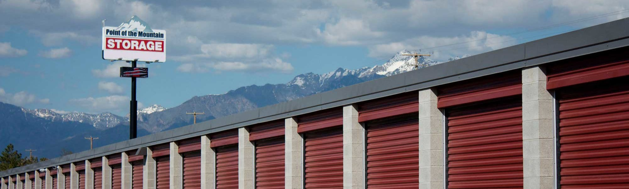 Review our Boat & RV Storage options at Point of the Mountain Storage