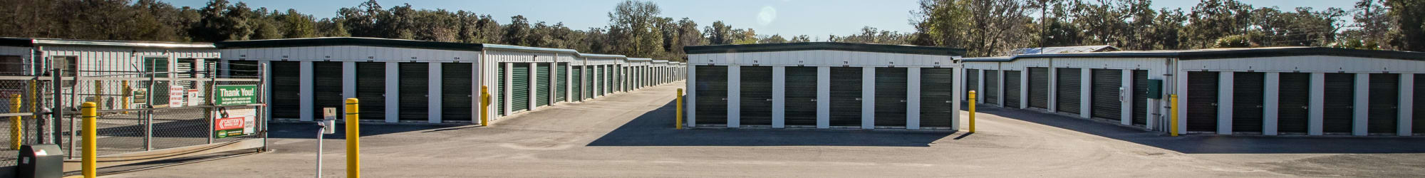 Self storage features at Neighborhood Storage in Ocala