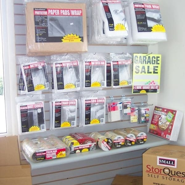 Boxes and moving supplies sold at StorQuest Self Storage in Honolulu, Hawaii