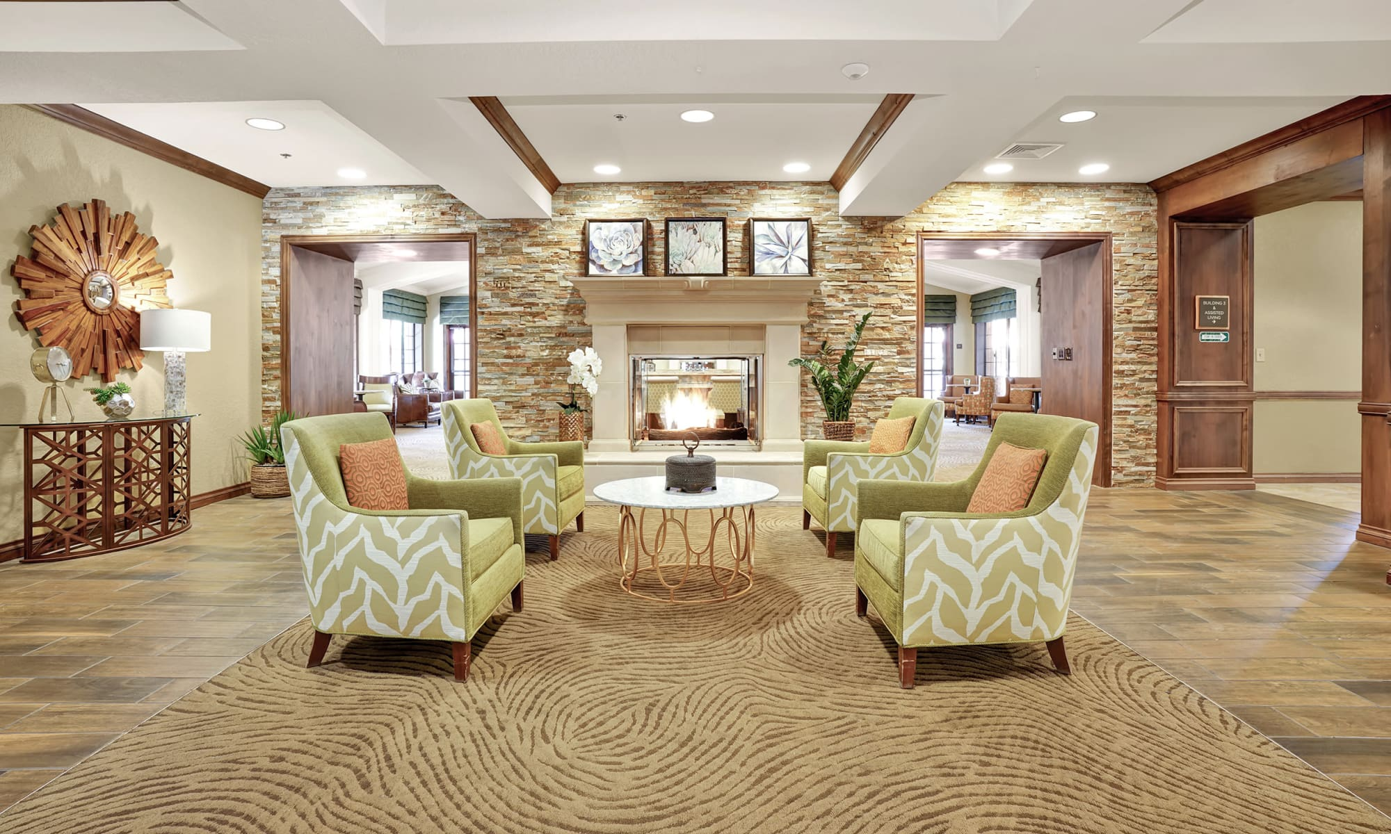 Lobby at The Country Club of La Cholla in Tucson, Arizona