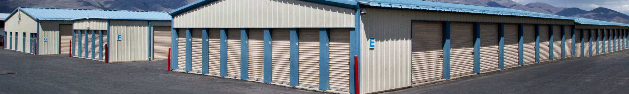 Find the right size storage unit at Daniels Road Self Storage