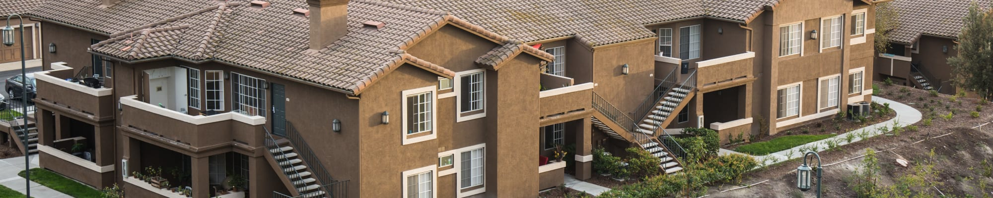 Community map at Paloma Summit Condominium Rentals in Foothill Ranch, California