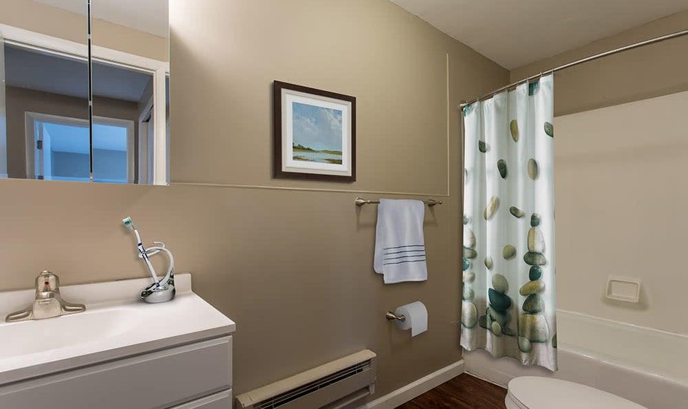 Bathroom at Wellington Manor