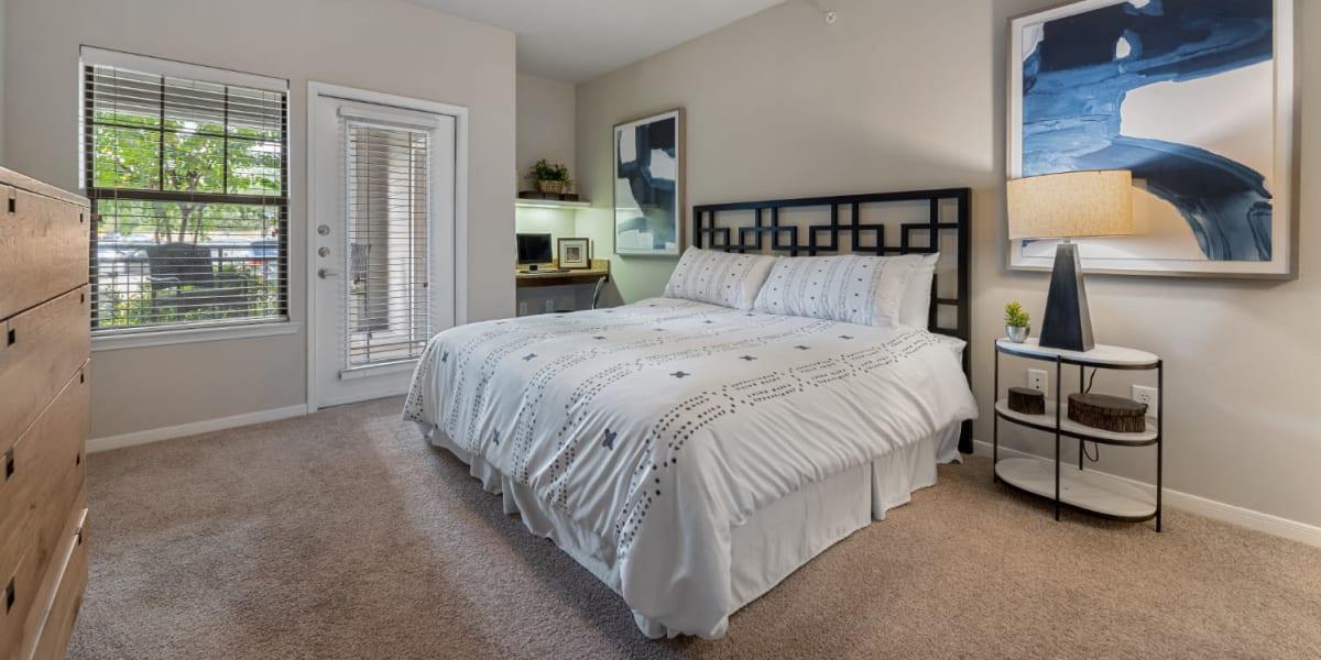 Bedroom at Marquis at Sugar Land in Sugar Land, Texas