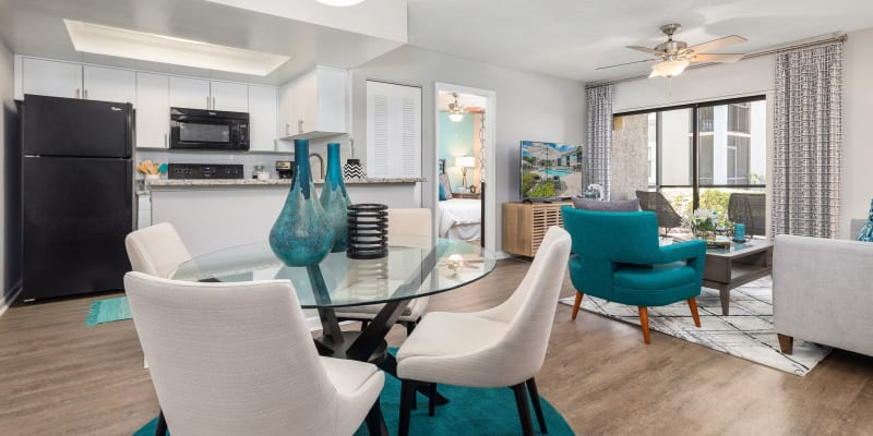 View virtual tour for 2 bedroom 2 bathroom home at The EnV in Hollywood, Florida