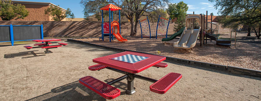 Enjoy the park at Roseville, California near Slate Creek Apartments